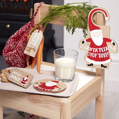 WOODEN SANTAS COMING CHRISTMAS EVE KIT