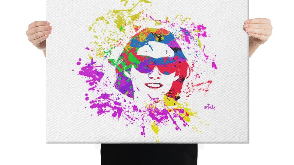 arTully - Evita Sunnies Canvas 18x24ins
