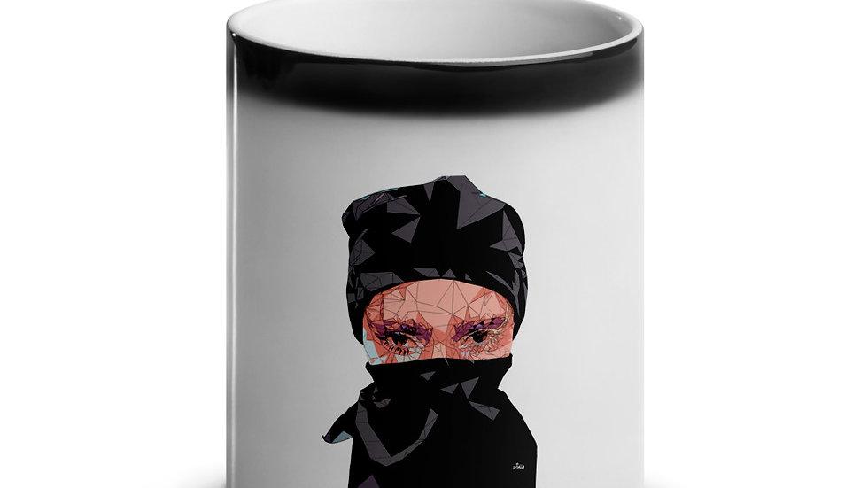 arTully - Polly Style Glossy Magic Mug