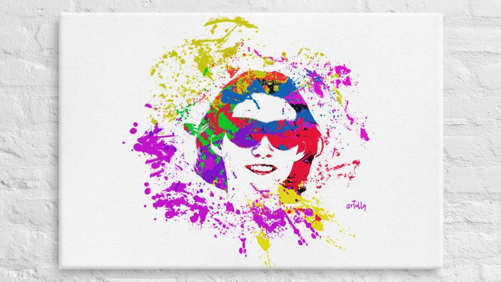 arTully - Evita Sunnies Canvas 24x26ins