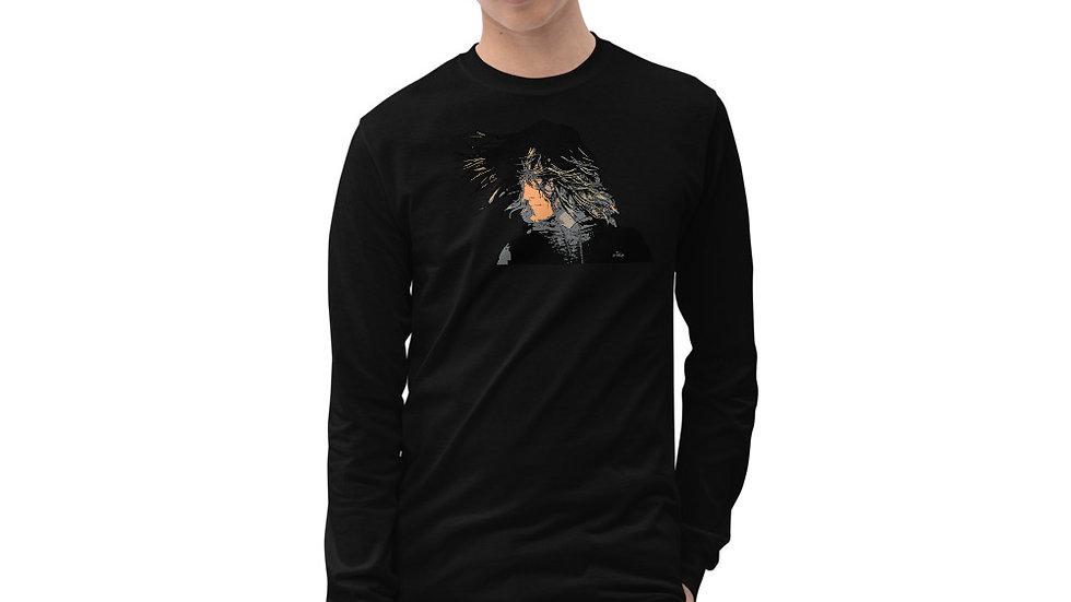 arTully - Messy Style Men's Long Sleeve T-Shirt