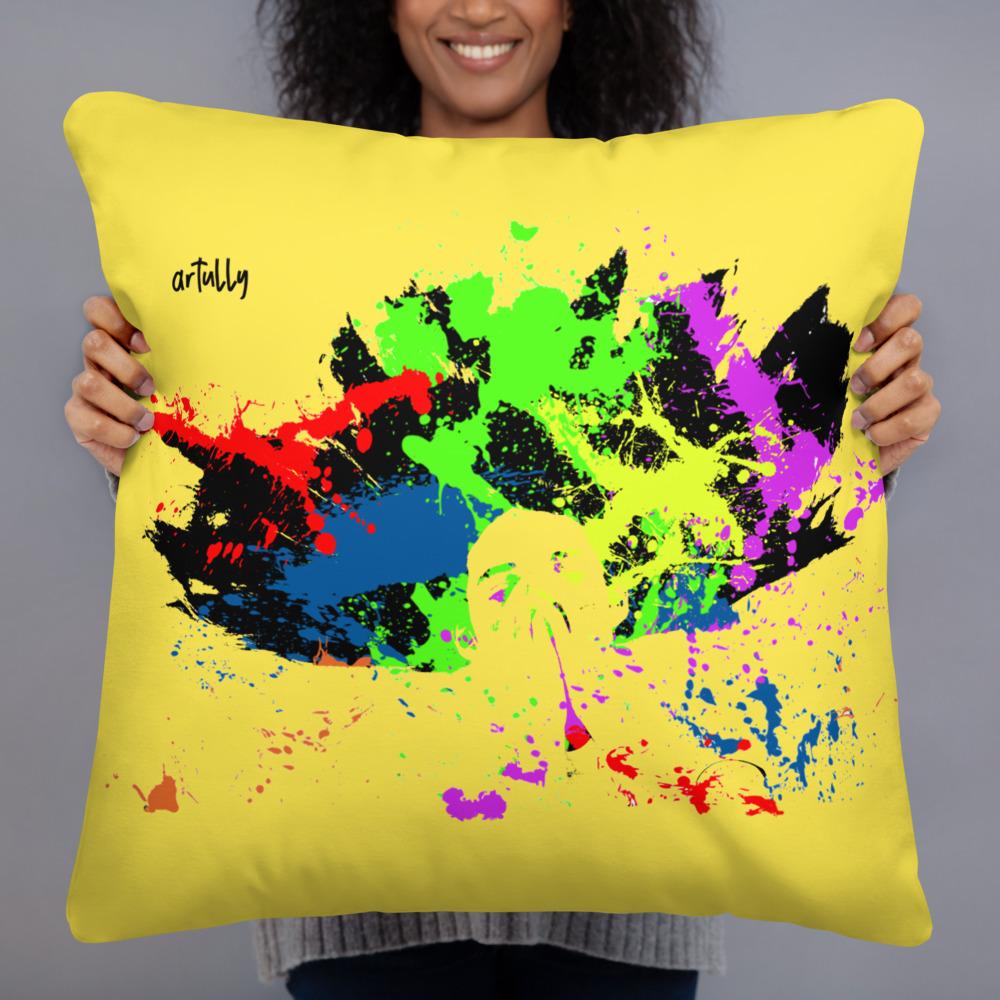 arTully - Splatter Style Pillow