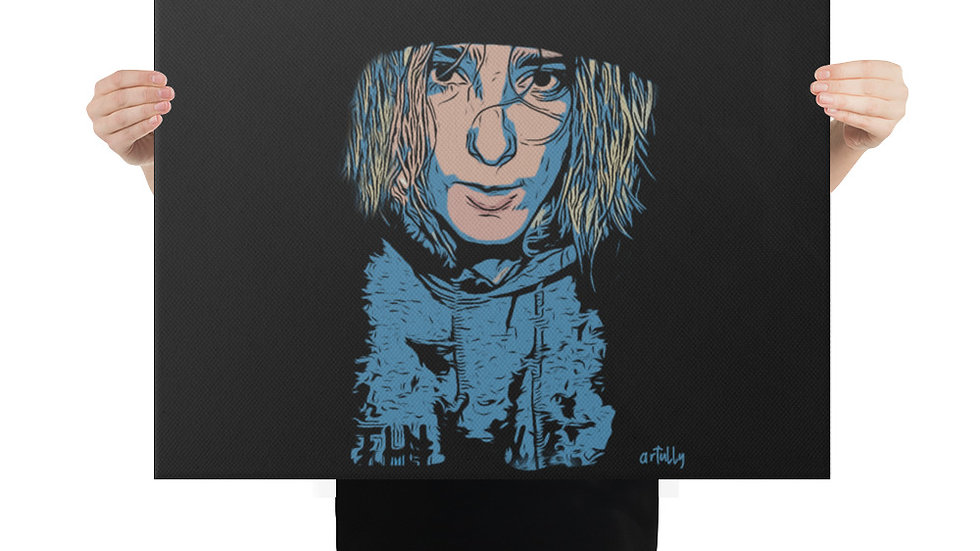 arTully - Lennon Resolute Canvas 18x24ins