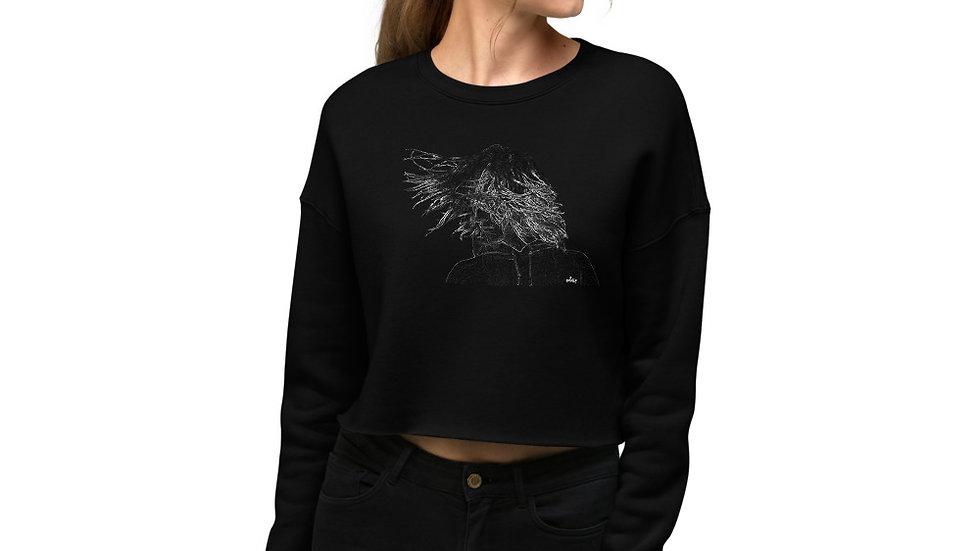 arTully - Flow Women's Crop Sweatshirt