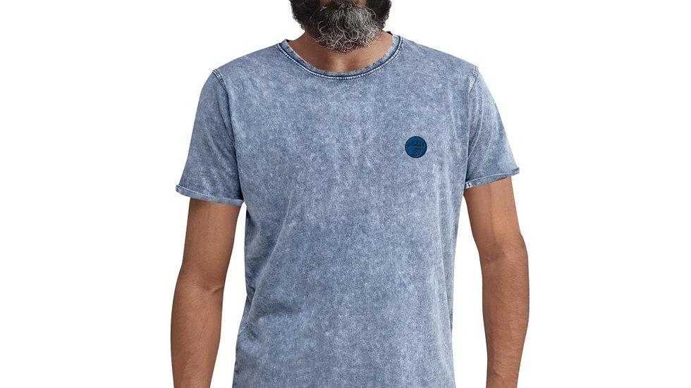 arTully - Men's Denim Style T-Shirt, Blue