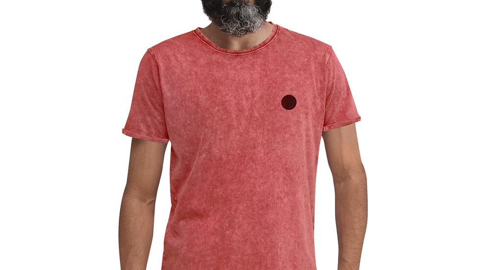 arTully - Men's Denim Style T-Shirt, Red