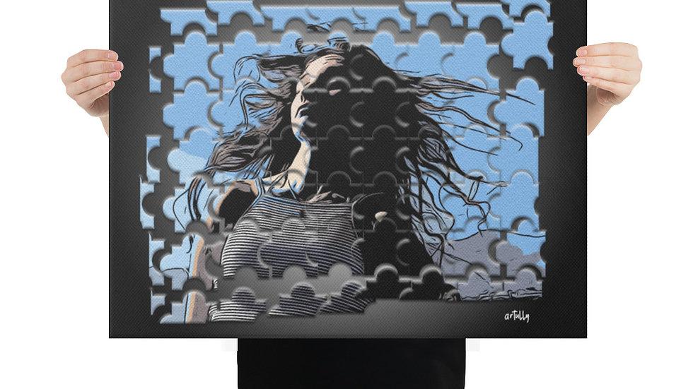 arTully - Evita Puzzle Canvas 18x24ins