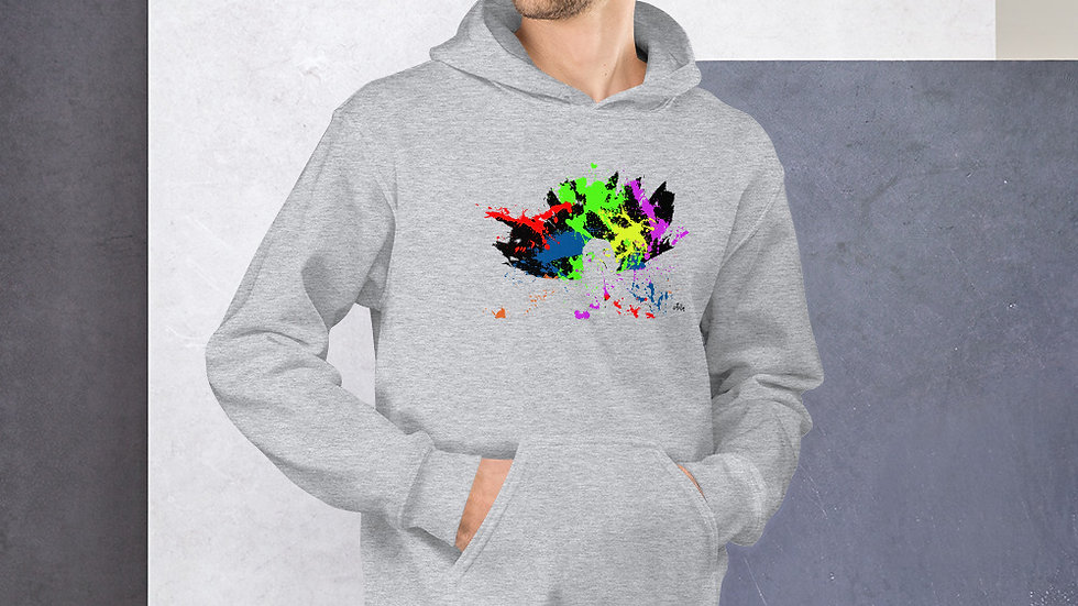arTully - Splatter Men's Hoodie