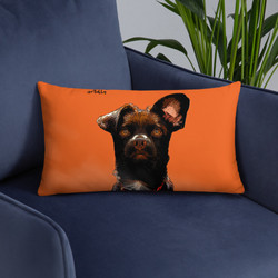 arTully - Rio the Rescue Dog - Pillow
