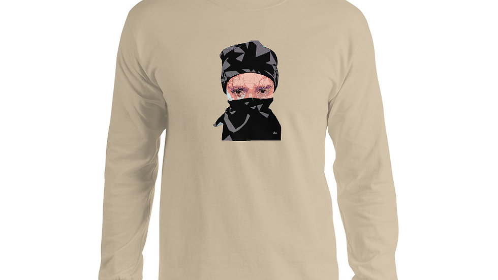 arTully - Polly Men's Long Sleeve T-Shirt
