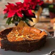 Walnut Crusted Cheesecake