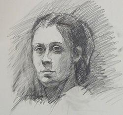 Graphite on paper, 2010, 18x24