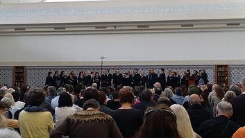 Les PHS à la Grand Mosquée