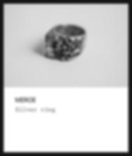 Silver ring / méroé