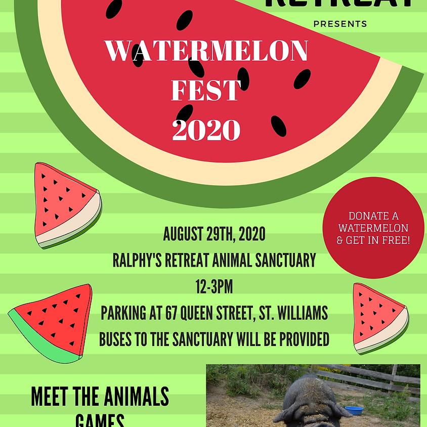 Watermelon Fest 2020