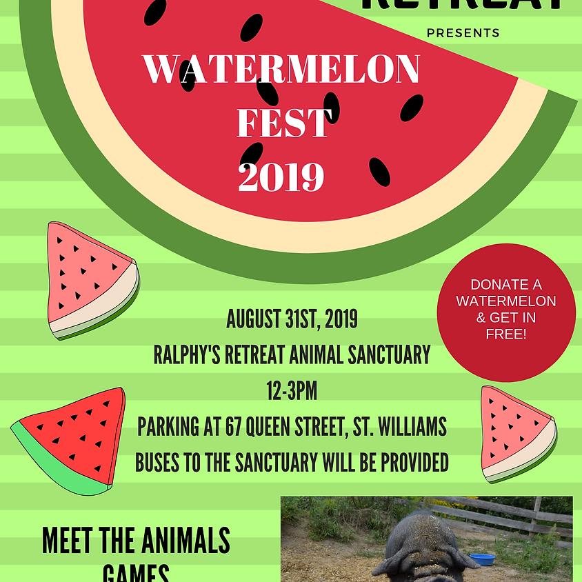 Watermelon Fest 2019