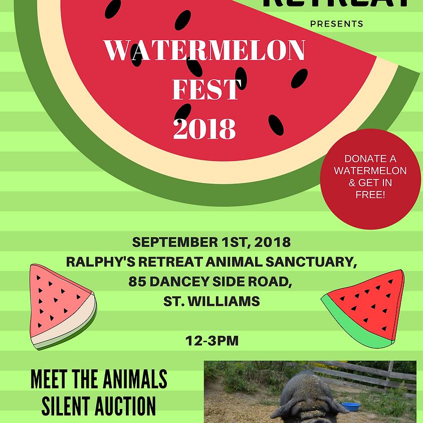 Ralphy's Watermelon Fest 2018