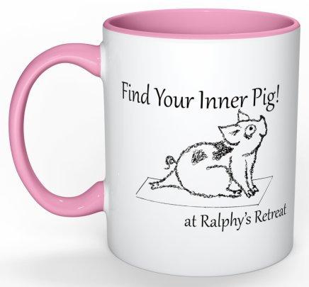 Find your Inner Pig Mug
