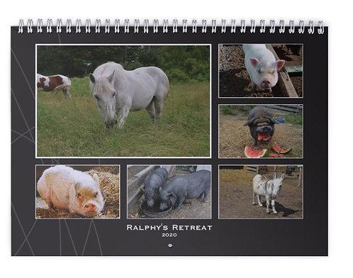 2020 Ralphy's Retreat Wall Calendar