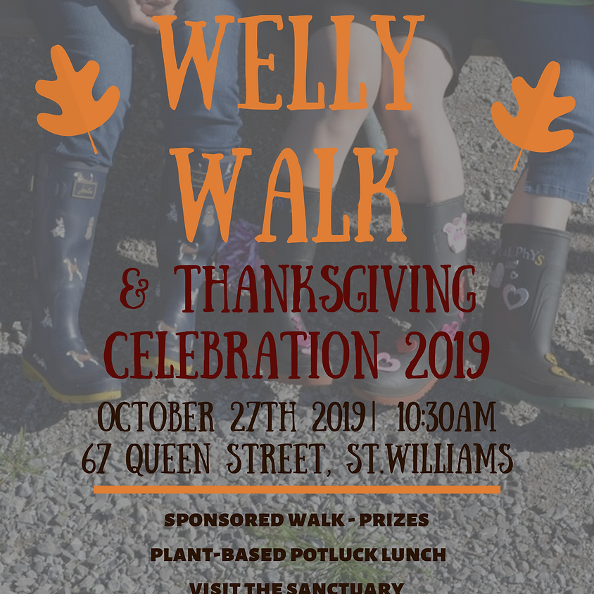 Welly Walk & Thanksgiving Celebration 2019