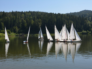 II. Tradicionalna regata Mini 12 na Gradiškem jezeru.