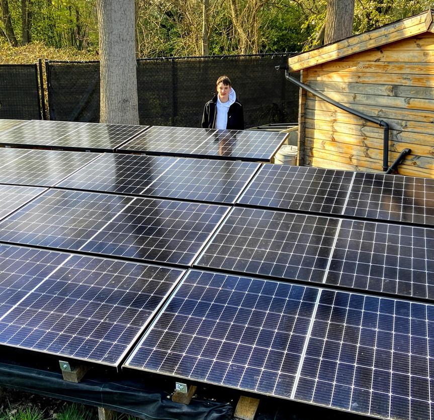 Off-grid zonnepanelen in Zemst