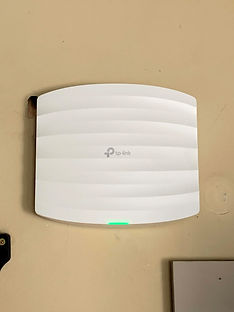 Wifi toeganspunt TP-Link, discreet en performant
