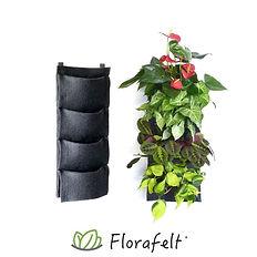 Florafelt-4-Pocket-Panel-Living-Wall-Sys