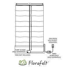 FlorafeltCustomRecircTubingKit5foot-FCRT