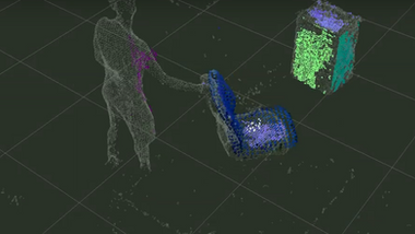 3D Particle Filter Tracking