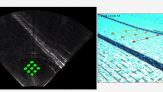 Sonar Camera Fusion Algorithm
