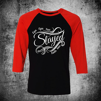 """SLAYED"" RAGLAN"