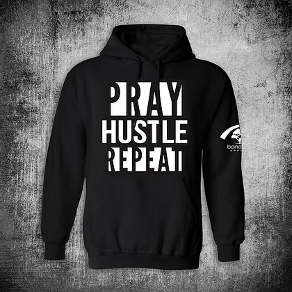 """PRAY HUSTLE REPEAT"" HOODY (B)"