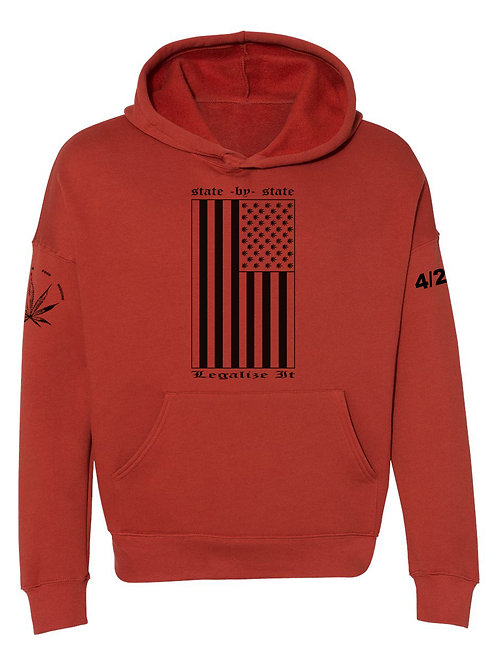 State by State Fashion Hoodie