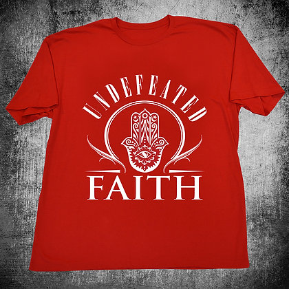 """UNDEFEATED FAITH"" (RED)"