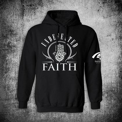 """""""UNDEFEATED FAITH"""" HOODY (BLK)"""