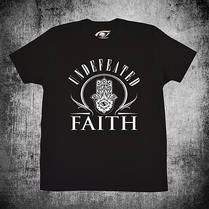 """""""UNDEFEATED FAITH"""" (BLK)"""