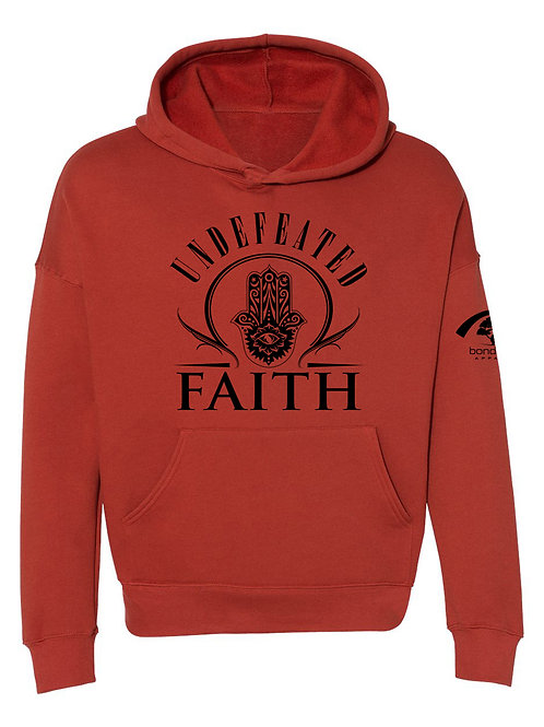 Undefeated Faith Fashion Hoodie