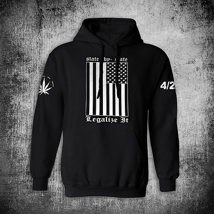 """""""STATE-BY-STATE"""" HOODY (BLK)"""