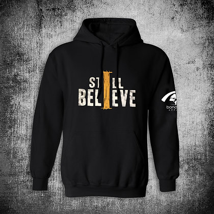 """I STILL BELIEVE"" HOODY (METALLIC)"
