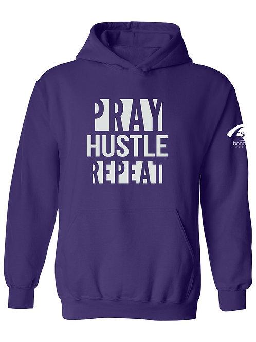 Pray Hustle Repeat Hoodie