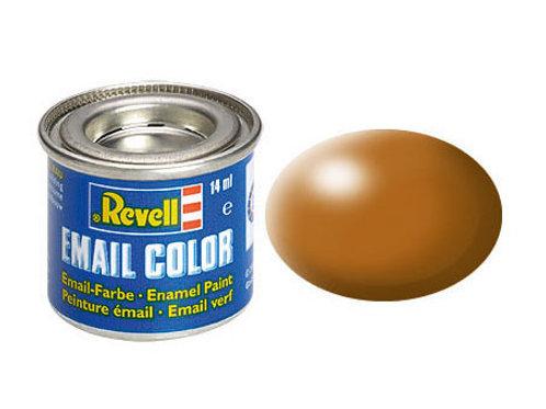 Email Color Holzbraun, seidenmatt, 14ml, RAL 8001