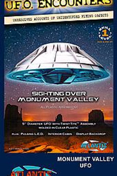 UFO Monument Valley, mit Licht, Klarsichtteile