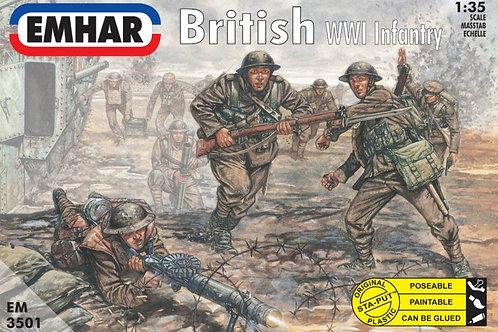 1/35 WWI Britische Infanterie