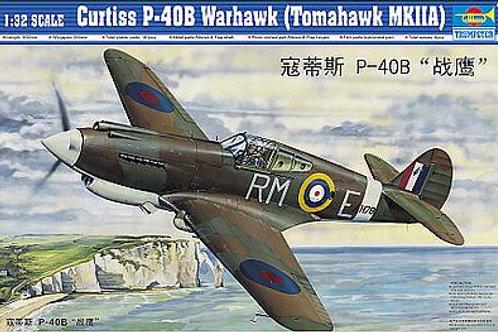 1/32 Curtiss P40B Warhawk