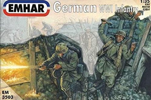 1/35 WWI Deutsche Infanterie