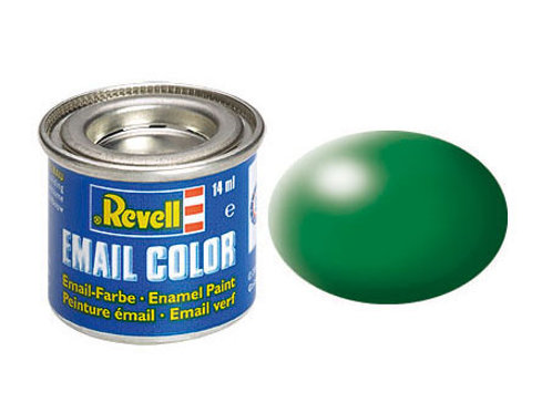 Email Color Laubgrün, seidenmatt, 14ml, RAL 6001