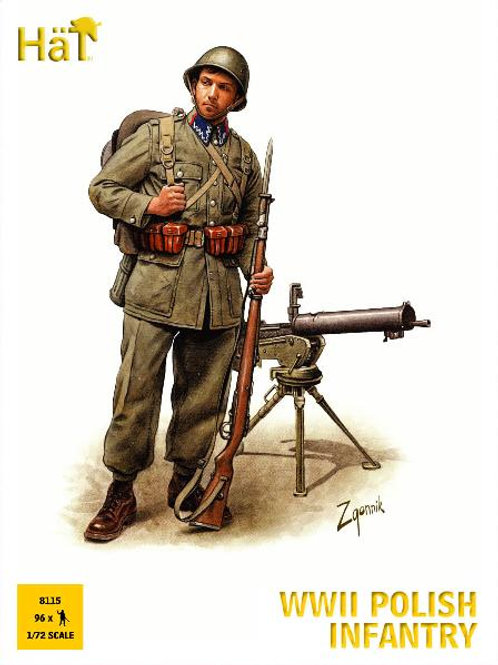 1/72 WWII polnische Infanterie