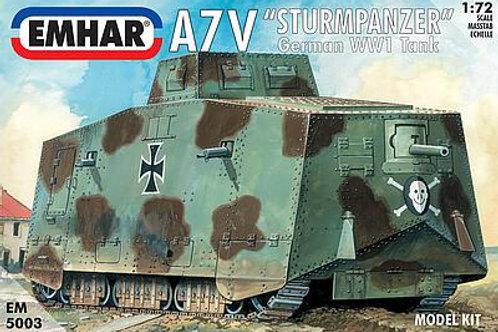 1/72 WWI A7V Deutscher Panzer