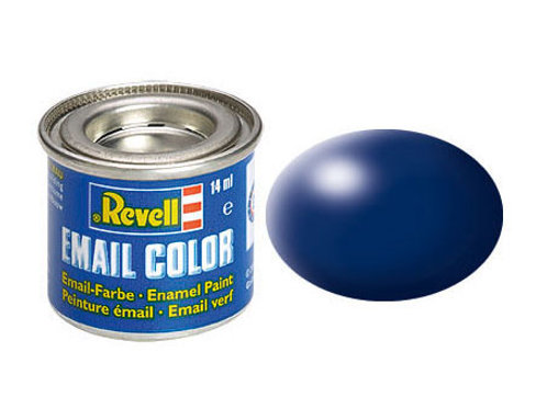 Email Color Lufthansa-Blau, seidenmatt, 14ml, RAL 5013